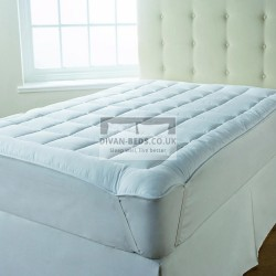 Fitted Microfiber Mattress Topper