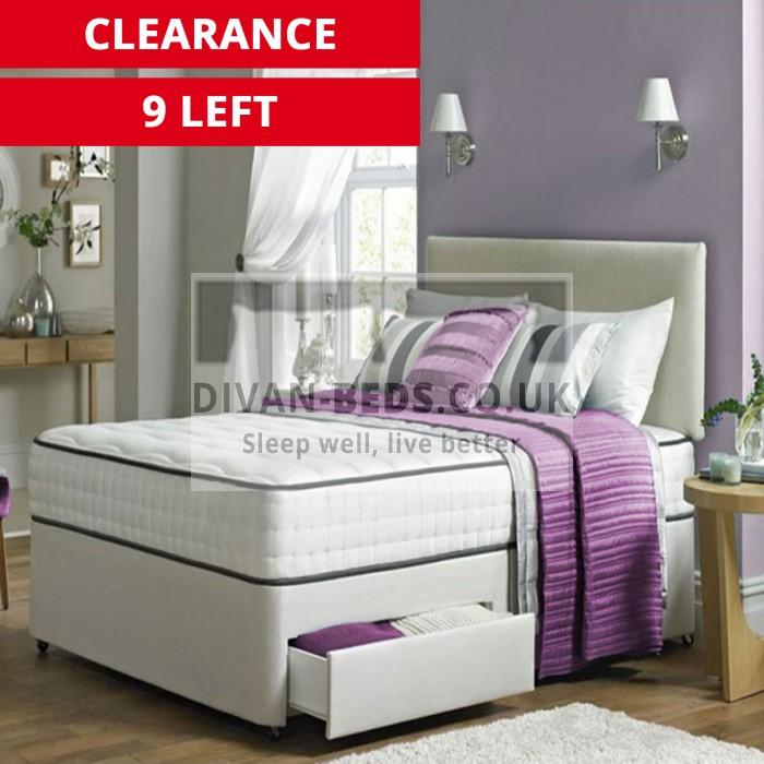 Kensington Divan Bed Set with 2000 Pocket Spring Memory Foam Mattress