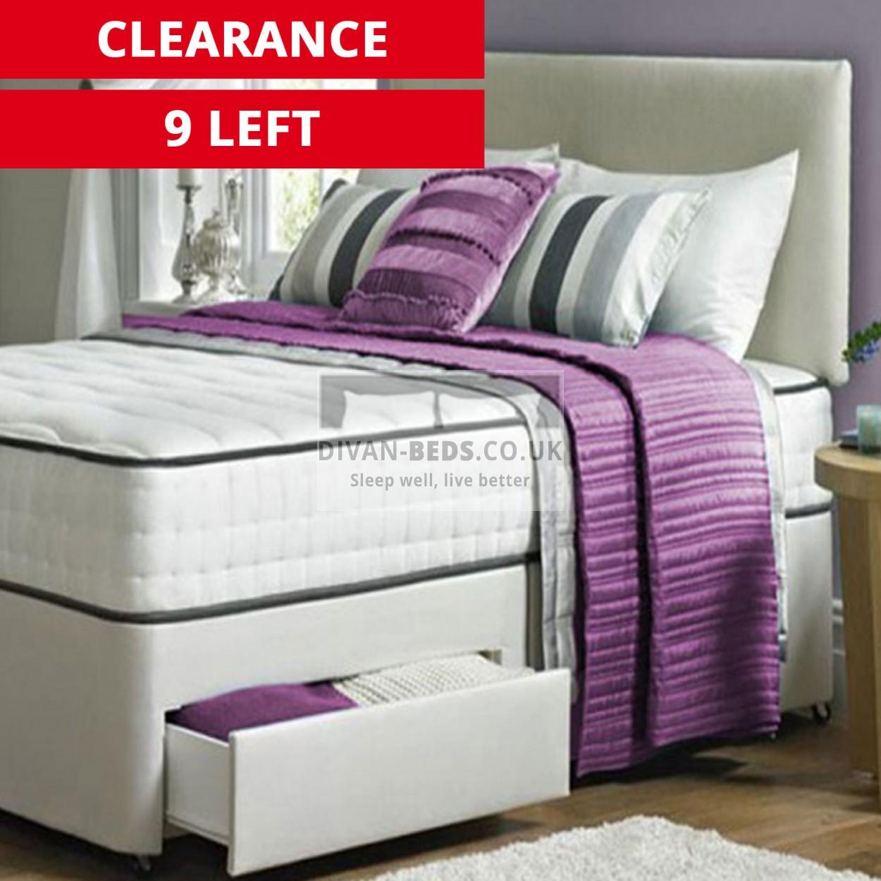 henry divan bed set with 2000 pocket spring memory foam. Black Bedroom Furniture Sets. Home Design Ideas