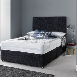 Walter Divan Bed Set with 3D Airflow Spring Memory Foam Mattress
