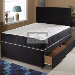 Addison Divan Bed with Spring Memory Foam Mattress