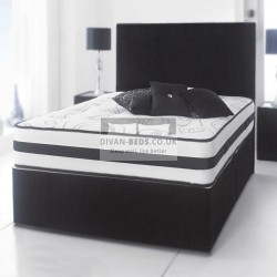 Jonathan Divan Bed with Spring Memory Foam Mattress