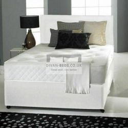 Arlington Divan Bed Set with Cooling Gel Spring Memory Mattress