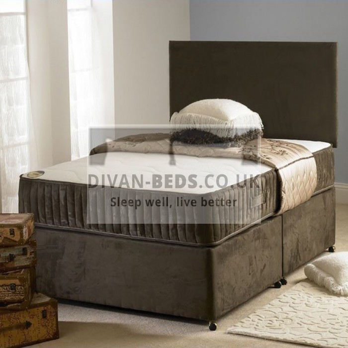 Edwin Divan Bed with Orthopaedic Spring Memory Foam Mattress