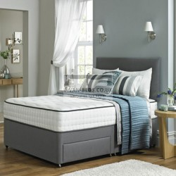 Franklin Divan Bed with Spring Memory Foam Mattress