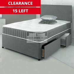 Carter Divan Bed with 3000 Pocket Spring Memory Foam Mattress