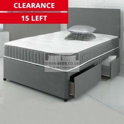 Carter Divan Bed with 3000 Pocket Spring Memory Foam Mattress