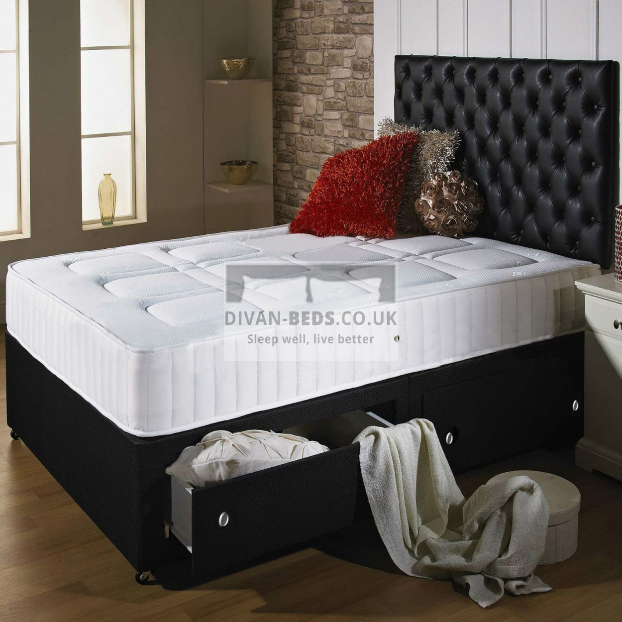 with foundation top shop reviews mattress product stay well image essentia staywell