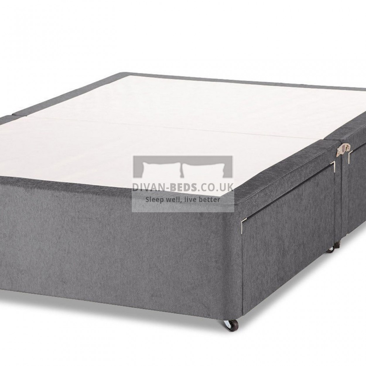 Wilson chenille divan base only guaranteed cheapest for High divan base