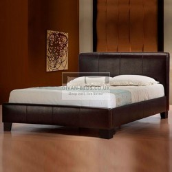 Lucia Modern Italian Designer Leather Bed