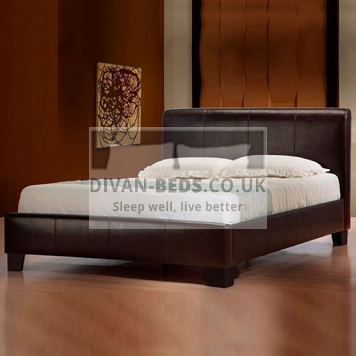 Emma Modern Leather Bed