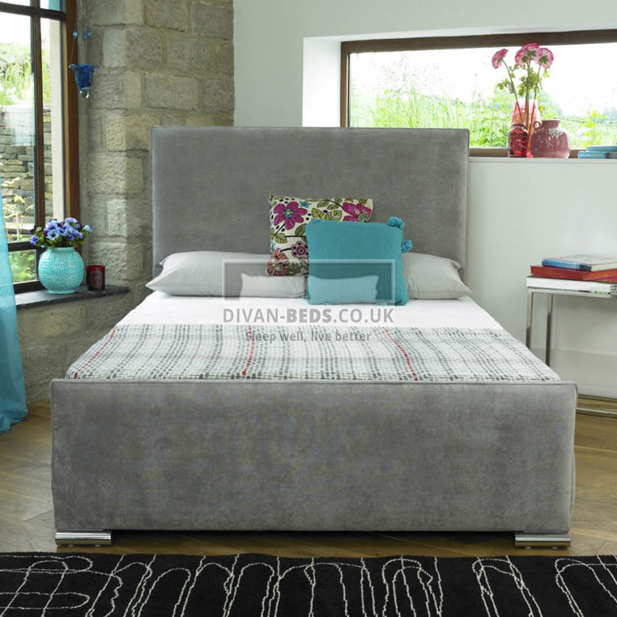 Clara Original Fabric Upholstered Bed Frame Guaranteed