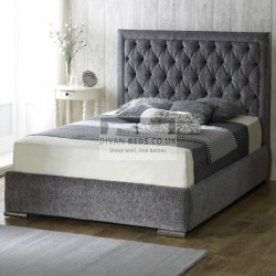 Belinha Fabric Upholstered Bed Frame