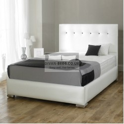 Pearl Diamond Fabric Upholstered Bed Frame