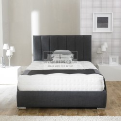 Amberlyn Fabric Upholstered Bed Frame