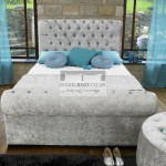Henrietta Luxury Fabric Upholstered Bed Frame