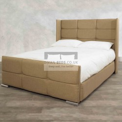 Davinio Winged Luxury Storage Bed Frame