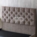 Clara Fabric Upholstered Floor Standing Divan Headboard