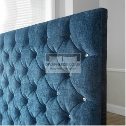 Grandeur Fabric Upholstered Floor Standing Divan Headboard