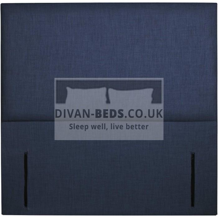 Clara Plain Fabric Upholstered Floor Standing Divan Headboard