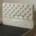 Clara Velvet Upholstered Floor Standing Divan Headboard