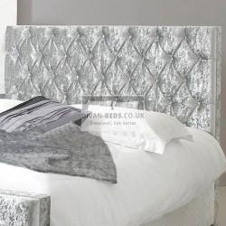Fiona Fabric Upholstered Floor Standing Divan Headboard