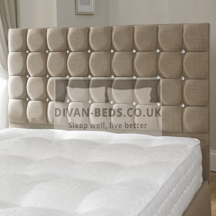 Erin Fabric Upholstered Floor Standing Divan Headboard Guaranteed Cheapest Free Fast Delivery