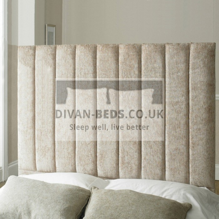 Shaw Fabric Upholstered Floor Standing Divan Headboard
