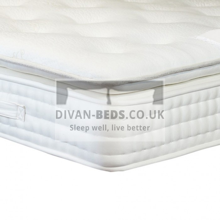 1500 Pocket Spring Organic Pillow Top Mattress