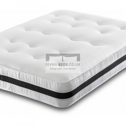 Airflow Open Coil 13.5 Spring Memory Foam Mattress