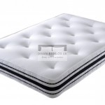 2500 Pocket Spring High Density Memory Foam Mattress with Airflow Features