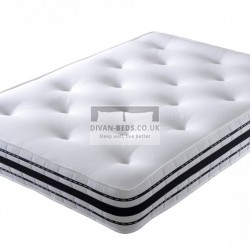 Pocket 2500 Spring High Density Memory foam Mattress with Airflow Features