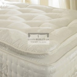 2000 Pocket Spring Organic Pillow Top Mattress