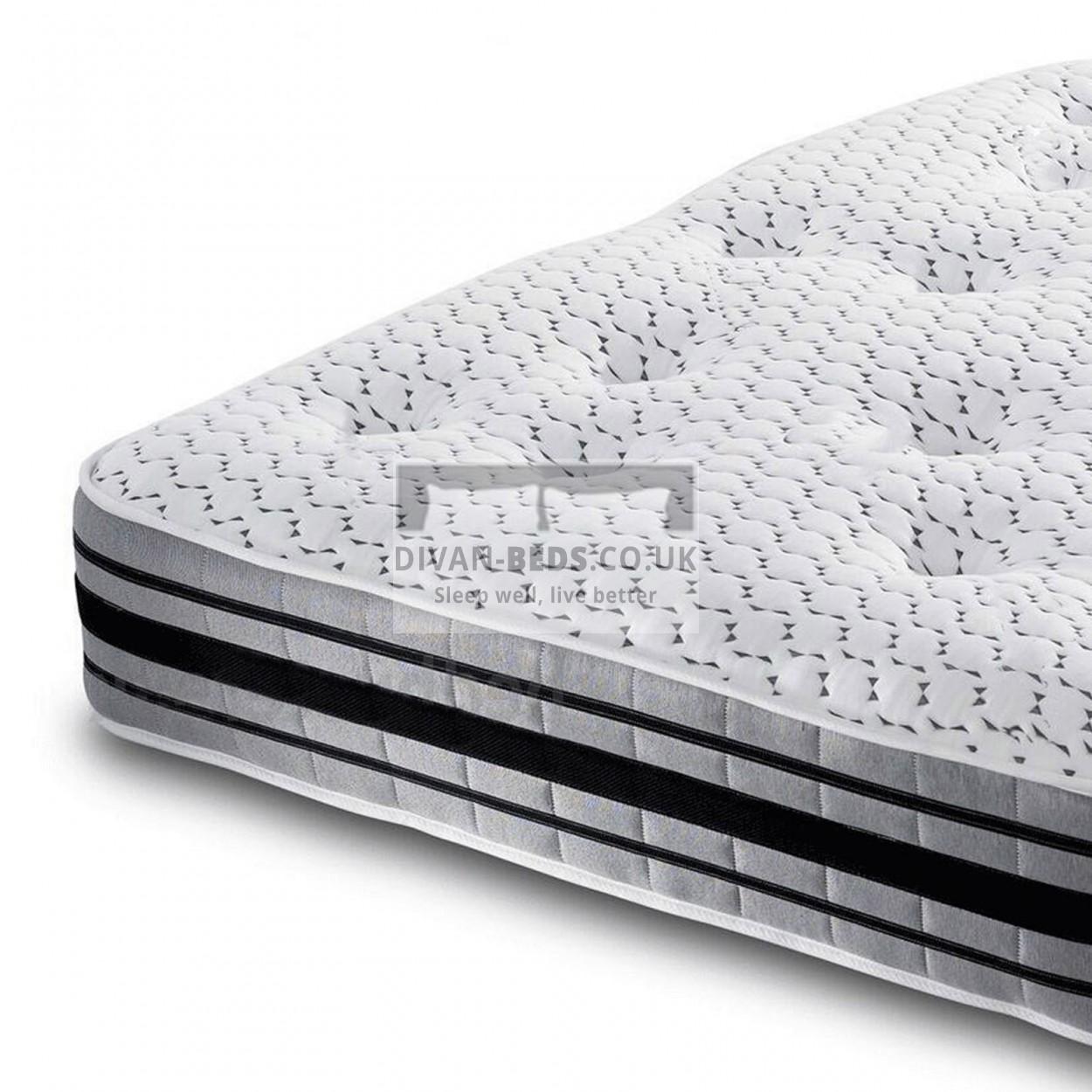 3000 Pocket Spring Organic Quilted Memory Foam Mattress