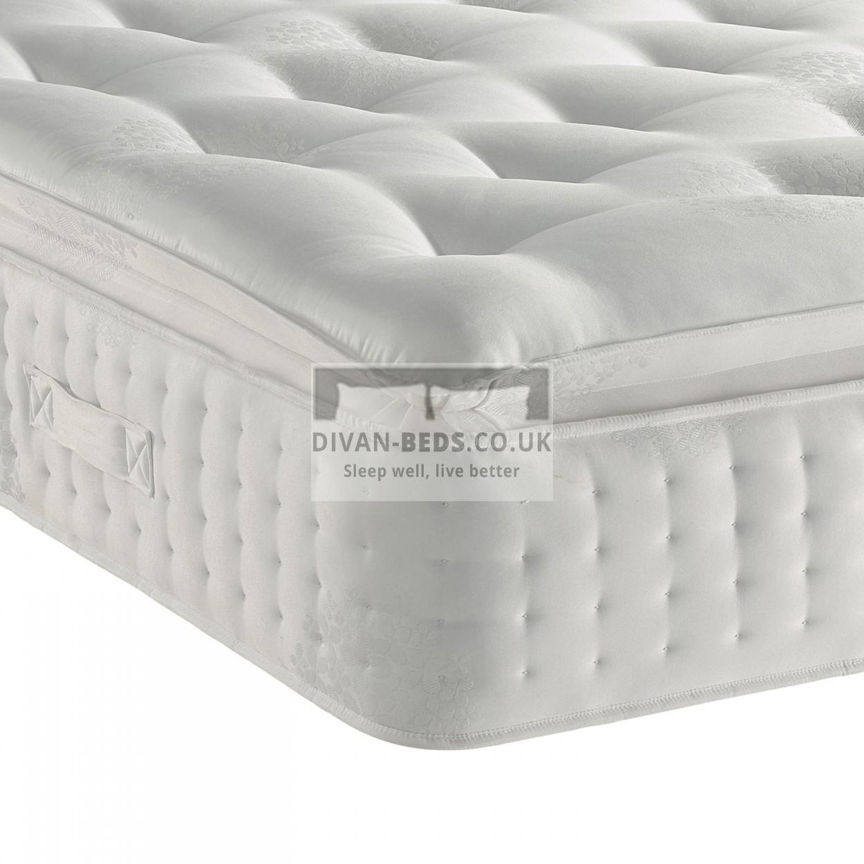 3000 Pocket Spring Orthopaedic Organic Pillow Top Mattress