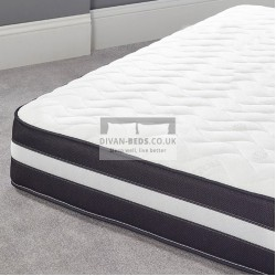 3000 Pocket Spring Organic Quilted Memory Foam Mattress