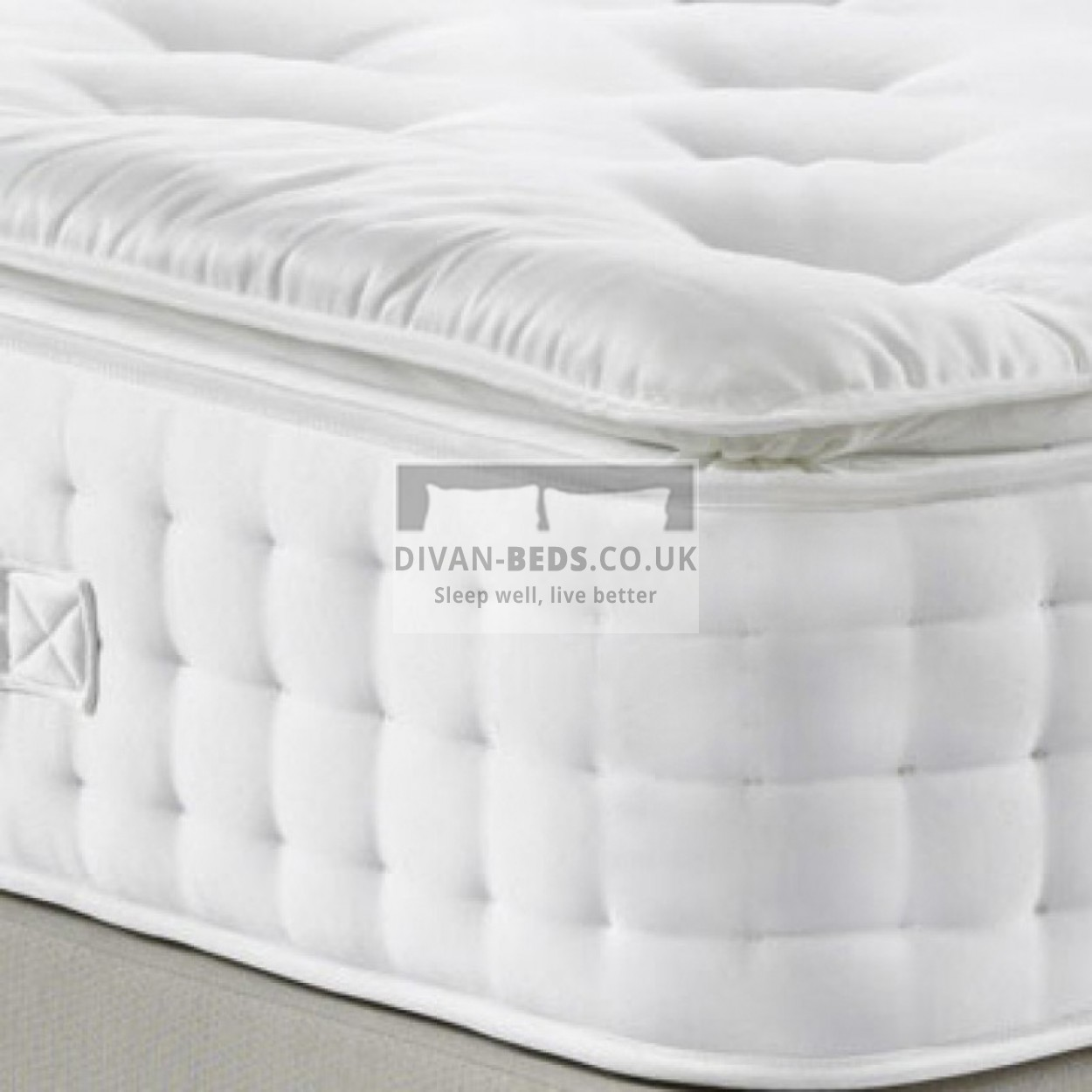5000 Pocket Spring Organic Pillow Top Mattress