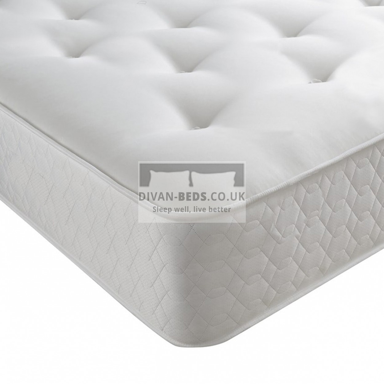 Hand Tufted Open Spring Memory Foam Mattress Guaranteed