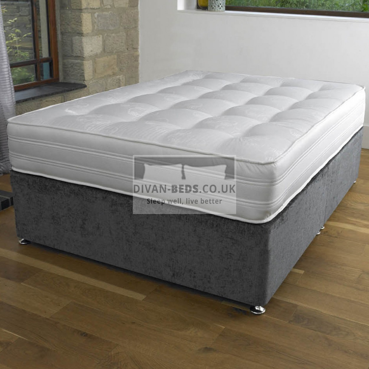 Firm Orthopedic Open Coil Spring Mattress Guaranteed