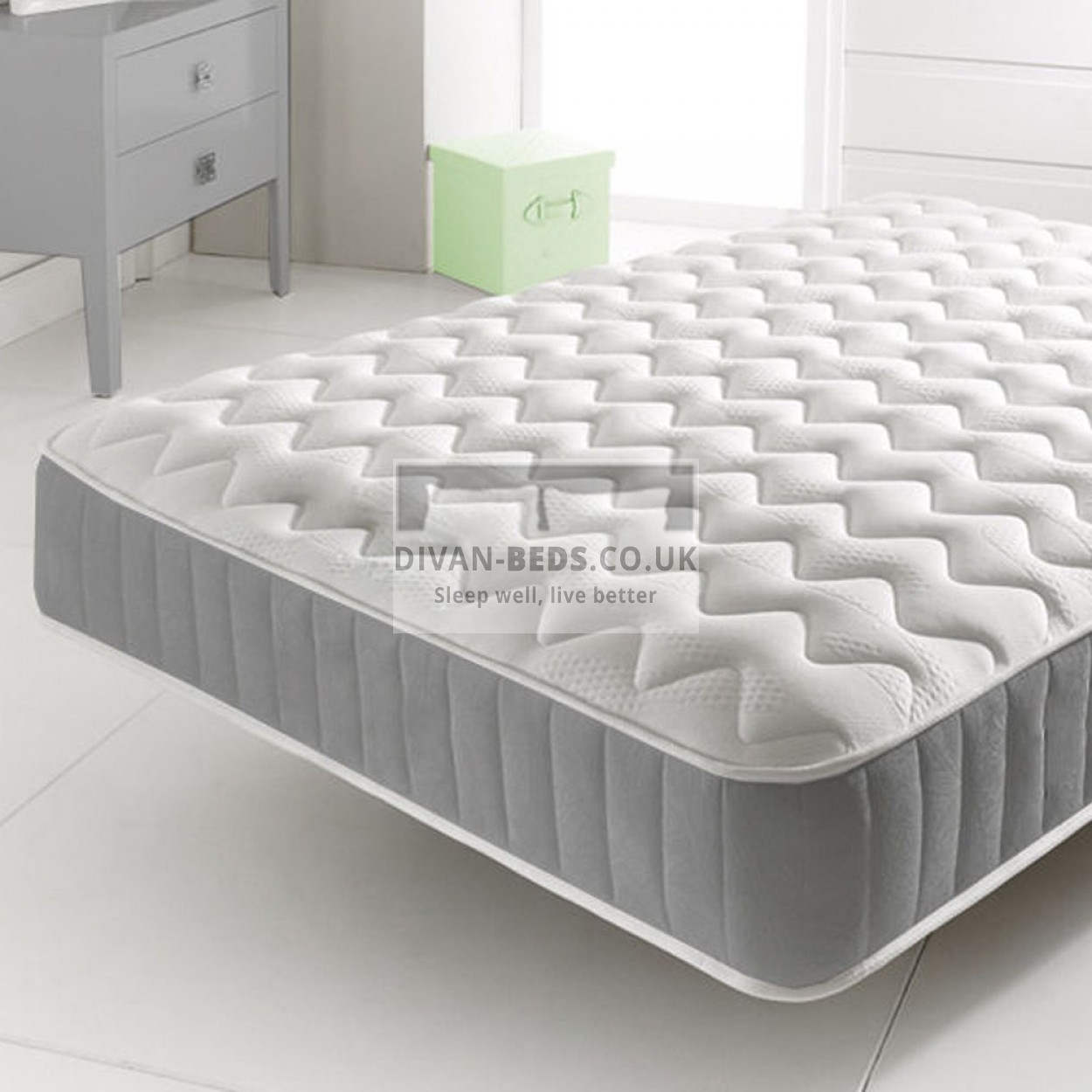 Orthopaedic Quilted Spring Memory Foam Mattress Guaranteed Cheapest Free Amp Fast Delivery