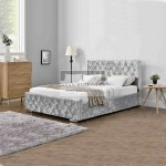 Fiona Ottoman End Lift Upholstered Bed Frame