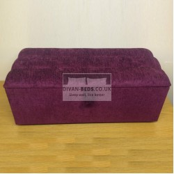 Mariana Chenille Fabric Upholstered Ottoman Storage Box and Stool