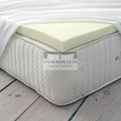 Pure 100% Memory Foam Mattress Topper