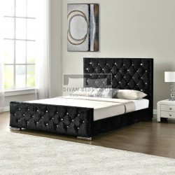 Fabiola Crushed Velvet Bed Frame