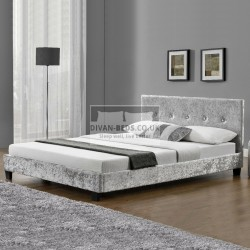 Felicia Crushed Velvet Bed Frame