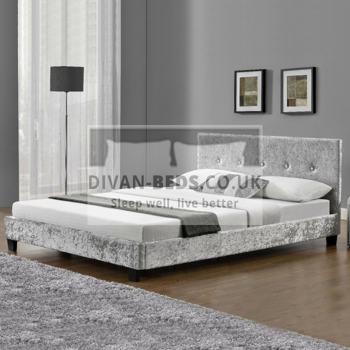 Felicia Crushed Velvet Bed Frame