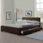 Else 4 Drawer Velvet Bed Frame