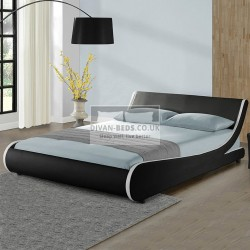 Mazzanti Modern Leather Bed Frame