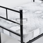 Amor Black Metal Bed Frame