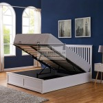 Ashcroft Wooden Ottoman Storage Bed with Headboard